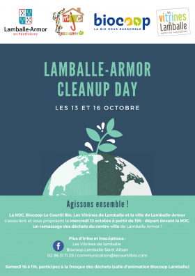 Lamballe-Armor Cleanup Day