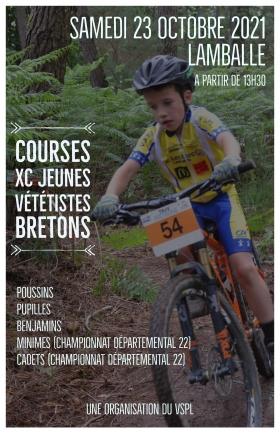 Courses XC Jeunes Vététistes Bretons à LAMBALLE ARMOR