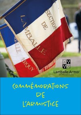 Commémorations de l'armistice - Lamballe-Armor