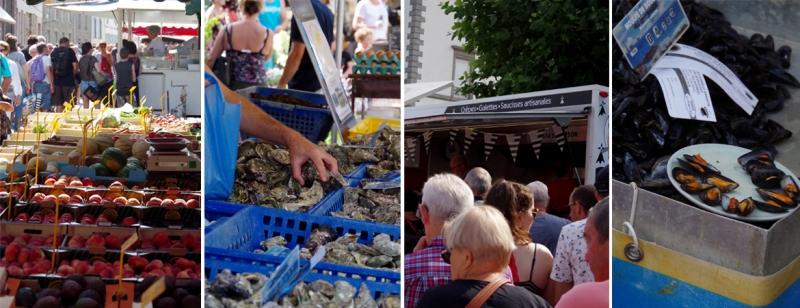 Le marché de Lamballe