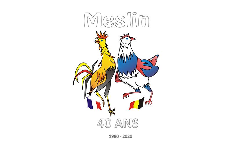 Jumelage Meslin et Meslin-L'Evêque