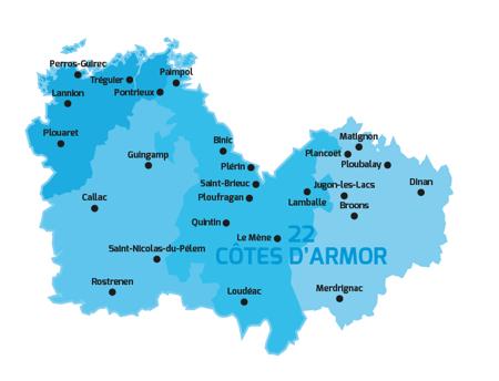 Département des Côtes d'Armor