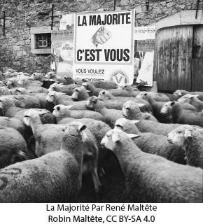 La Majorité Par René Maltête - Robin Maltête, CC BY-SA 4.0