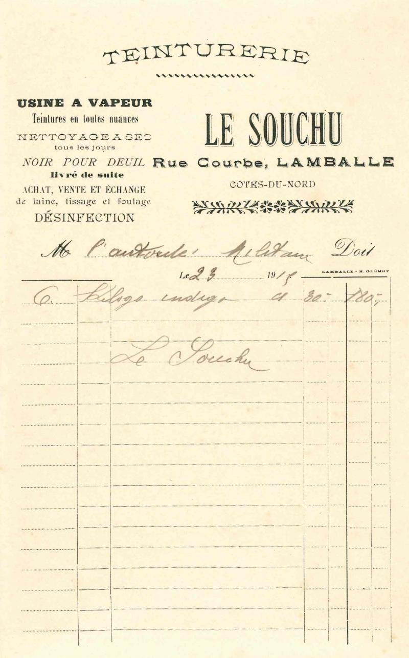 Lamballe en 1914