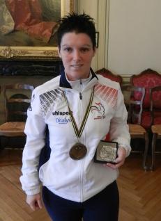 Pétanque, une championne récompensée