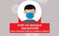 Covid-19   Port du masque obligatoire