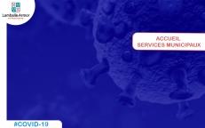Covid-19 | Accueil services municipaux