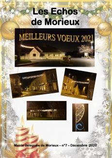 Les échos de Morieux - Décembre 2020