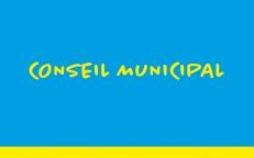 22/03/2021 : Conseil municipal