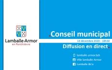 14/12/2020 : Conseil municipal