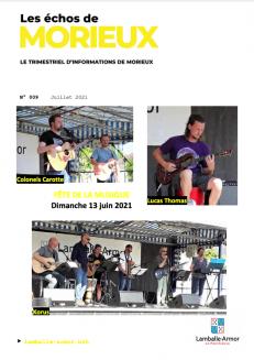 Les Échos de Morieux - Juillet 2021