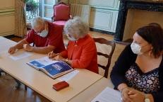 Signature de la charte Ville aidante Alzheimer
