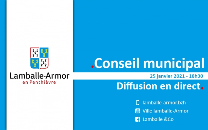 25/01 : Conseil municipal