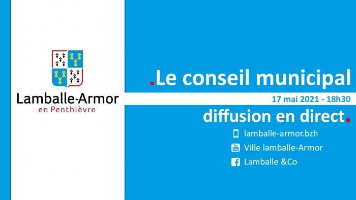 17/05: Conseil municipal