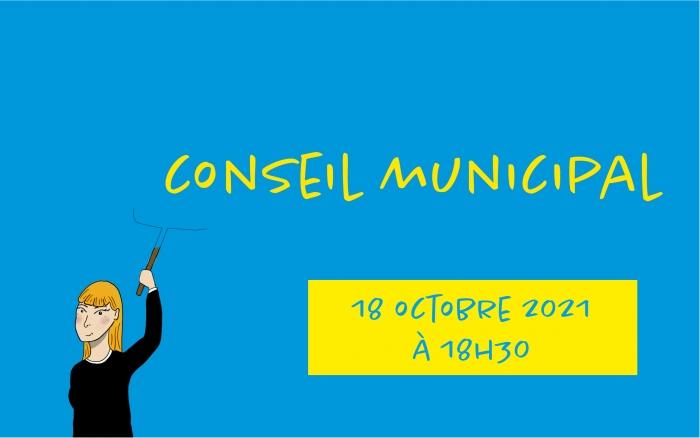 Conseil Municipal : lundi 18 octobre