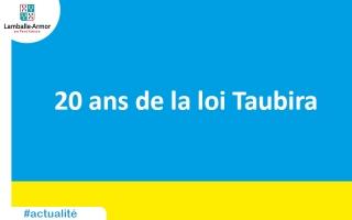 20 ans de la promulgation de la loi Taubira