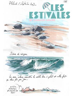 Exposition Yann Lesacher : Bretagne par les contours